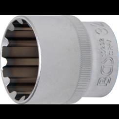 """Socket, Gear Lock  12.5 mm (1/2"""") Drive  32 mm"""