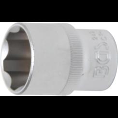 """Socket, Super Lock  12.5 mm (1/2"""") Drive  21 mm"""