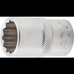 "Socket, 12-point  12.5 mm (1/2"") Drive  17 mm"