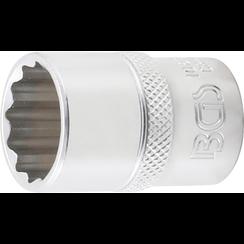 "Dopsleutel twaalfkant  12,5 mm (1/2"")  19 mm"