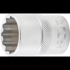 "Socket, 12-point  12.5 mm (1/2"") Drive  21 mm"