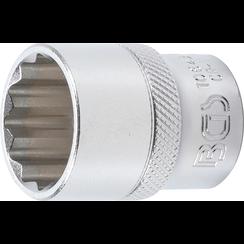 "Socket, 12-point  12.5 mm (1/2"") Drive  22 mm"