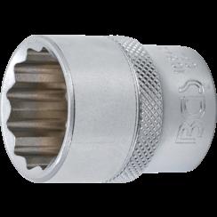 "Socket, 12-Point  12.5 mm (1/2"") Drive  23 mm"