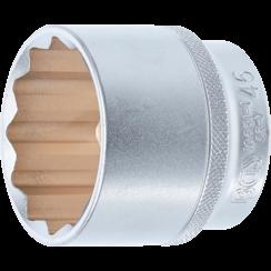 "Socket, 12-Point  12.5 mm (1/2"") Drive  46 mm"