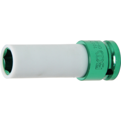 "Protective Impact Socket  12.5 mm (1/2"") Drive  15 mm"