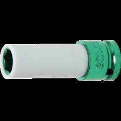 "Protective Impact Socket  12.5 mm (1/2"") Drive  15 mm"