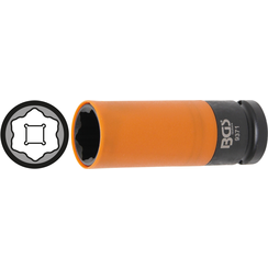 "Protective Sleeve Impact Socket  for Hyundai i30, Tucson & Kia  12.5 mm (1/2"") Drive  21 mm"