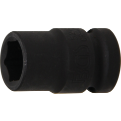 "Impact Socket, Hexagon  12.5 mm (1/2"") Drive  14 mm"