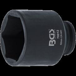 "Kracht dopsleutel zeskant  12,5 mm (1/2"")  52 mm"