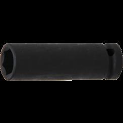 "Impact Socket Hexagon, deep  12.5 mm (1/2"") Drive  15 mm"