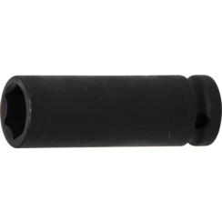 "Impact Socket Hexagon, deep  12.5 mm (1/2"") Drive  17 mm"