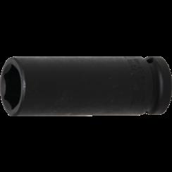 "Impact Socket Hexagon, deep  12.5 mm (1/2"") Drive  18 mm"