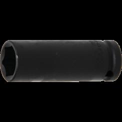 "Impact Socket Hexagon, deep  12.5 mm (1/2"") Drive  19 mm"