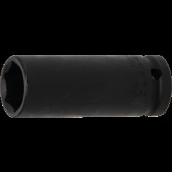 "Impact Socket Hexagon, deep  12.5 mm (1/2"") Drive  21 mm"