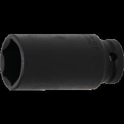 "Impact Socket Hexagon, deep  12.5 mm (1/2"") Drive  27 mm"