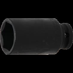 "Impact Socket Hexagon, deep  12.5 mm (1/2"") Drive  30 mm"