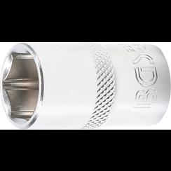 "Socket, Hexagon  12.5 mm (1/2"") Drive  16 mm"