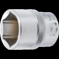 "Socket, Hexagon  12.5 mm (1/2"") Drive  15/16"""