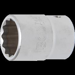 "Socket, 12-point  20 mm (3/4"") Drive  27 mm"