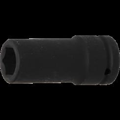 "Impact Socket Hexagon, deep  20 mm (3/4"") Drive  21 mm"
