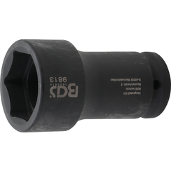 "Impact Socket, Hexagon, deep  20 mm (3/4"") Drive  41 mm  for FUSO / Mitsubishi"