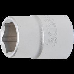 "Dopsleutel zeskant  20 mm (3/4"")  23 mm"