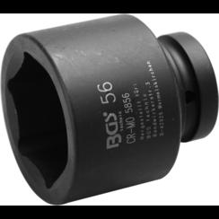 "Kracht dopsleutel zeskant  25 mm (1"")  56 mm"