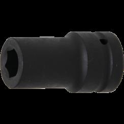 "Impact Socket Hexagon, deep  25 mm (1"") Drive  21 mm"