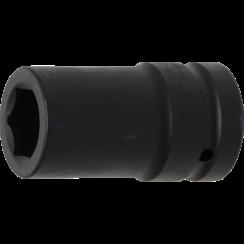 "Impact Socket Hexagon, deep  25 mm (1"") Drive  27 mm"