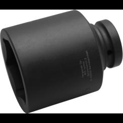 "Impact Socket Hexagon, deep  25 mm (1"") Drive  65 mm"