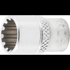 """Socket, Gear Lock, deep  6,3 mm (1/4"""") Drive  11 mm"""