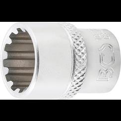 """Socket, Gear Lock, deep  6,3 mm (1/4"""") Drive  13 mm"""