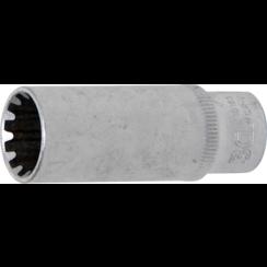"""Socket, Gear Lock, deep  6.3 mm (1/4"""") Drive  13 mm"""