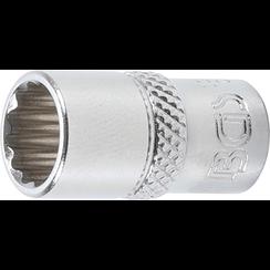 "Socket, 12-point  6.3 mm (1/4"") Drive  9 mm"