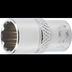 "Socket, 12-point  6.3 mm (1/4"") Drive  10 mm"