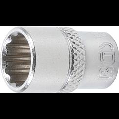 "Socket, 12-point  6.3 mm (1/4"") Drive  11 mm"