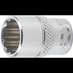 "Socket, 12-point  6.3 mm (1/4"") Drive  12 mm"