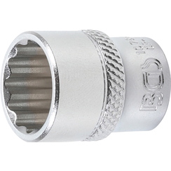 "Socket, 12-point  6.3 mm (1/4"") Drive  14 mm"
