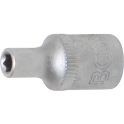 "Socket, Hexagon  6.3 mm (1/4"") Drive  3.5 mm"