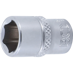 "Socket, Hexagon  6.3 mm (1/4"") Drive  11 mm"