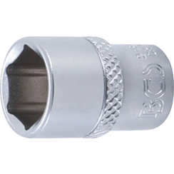 "Socket, Hexagon  6.3 mm (1/4"") Drive  12 mm"