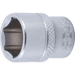 "Socket, Hexagon  6.3 mm (1/4"") Drive  14 mm"