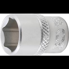"Dopsleutel zeskant  6,3 mm (1/4"")  1/2"""