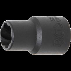 "Twist Socket (Spiral Profile) / Screw Extractor  10 mm (3/8"") Drive  10 mm"