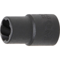 "Twist Socket (Spiral Profile) / Screw Extractor  10 mm (3/8"") Drive  11 mm"