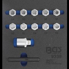 Tool Tray 1/6: Rim Lock Socket Set for Mercedes-Benz  12 pcs.