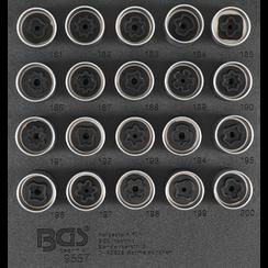 Gereedschapmodule 1/6: Velgenslot demontageset voor Opel (type B)  20-tlg.