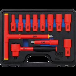"""VDE Socket Set  10 mm (3/8"""") Drive  7 - 22 mm  12 pcs."""