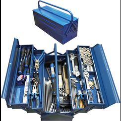 Metal workshop Tool Case incl. Tool Assortment  137 pcs.