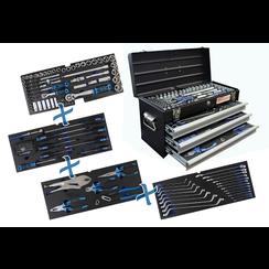 Metal workshop Tool Case  3 Drawers  with 143 Tools